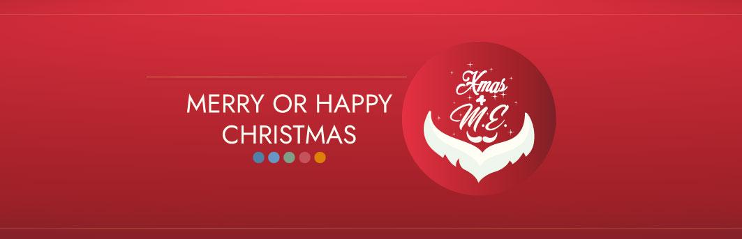 por qué inglés se dice Merry Christmas